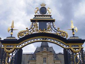 Le château de Maisons-Laffitte et sa grille restaurée Photographies juin 2020