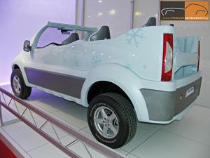 Citroën Jumpy Atlante Des Neiges par Sbarro