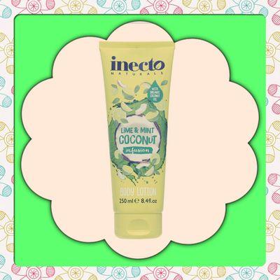 Crème pour le corps Inecto Naturals Lime & Mint infusion