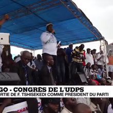 RDC : Félix Tshisekedi, le fils de l'ancien opposant historique a tenu son premier meeting à N'djili