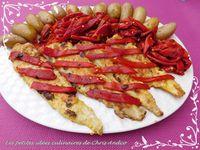 Filets de merlu aux poivrons piquillos