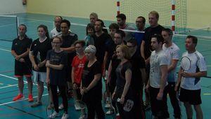 Badminton. Les interclubs du mois de mai.