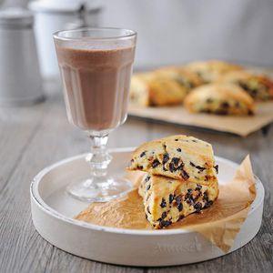 Scones aux pépites de chocolat