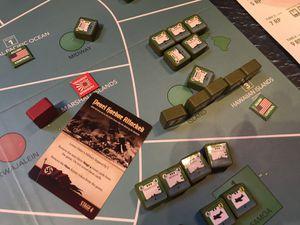 Attaque de Pearl Harbour et diminution du niveau militaire ( clin d'oeil avec le jeu Holdfast Pacific)