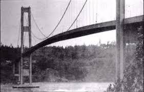 Destruction du pont de Tacoma en moins d'1 heure.