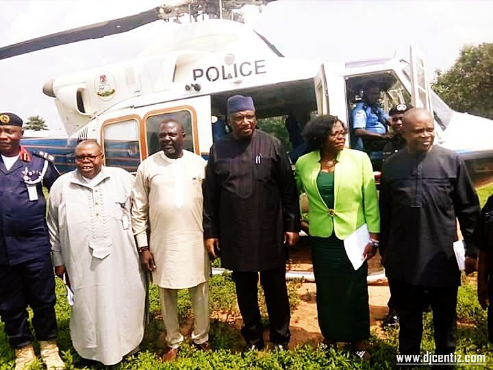 Minister of Interior Gen. Dambazau visit to Ukelle via Air didn't want an experience of the BAD Nature of the North Ukelle Road?.