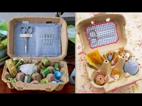 DIY : Do It Yourself : Recycler les boites à oeufs !