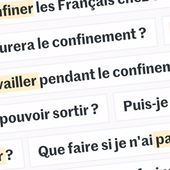 Nos réponses à vos questions sur le confinement en France : sorties, livraison à domicile, port du masque, déménagements