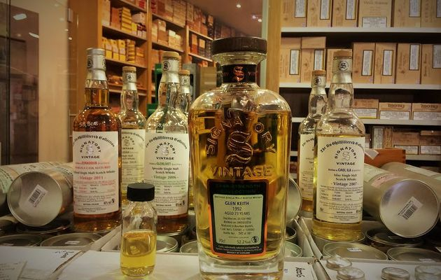 Glen Keith 23Y Cask Strength Collection