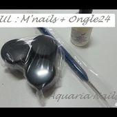 HAUL : M'nails + première commande Ongle 24