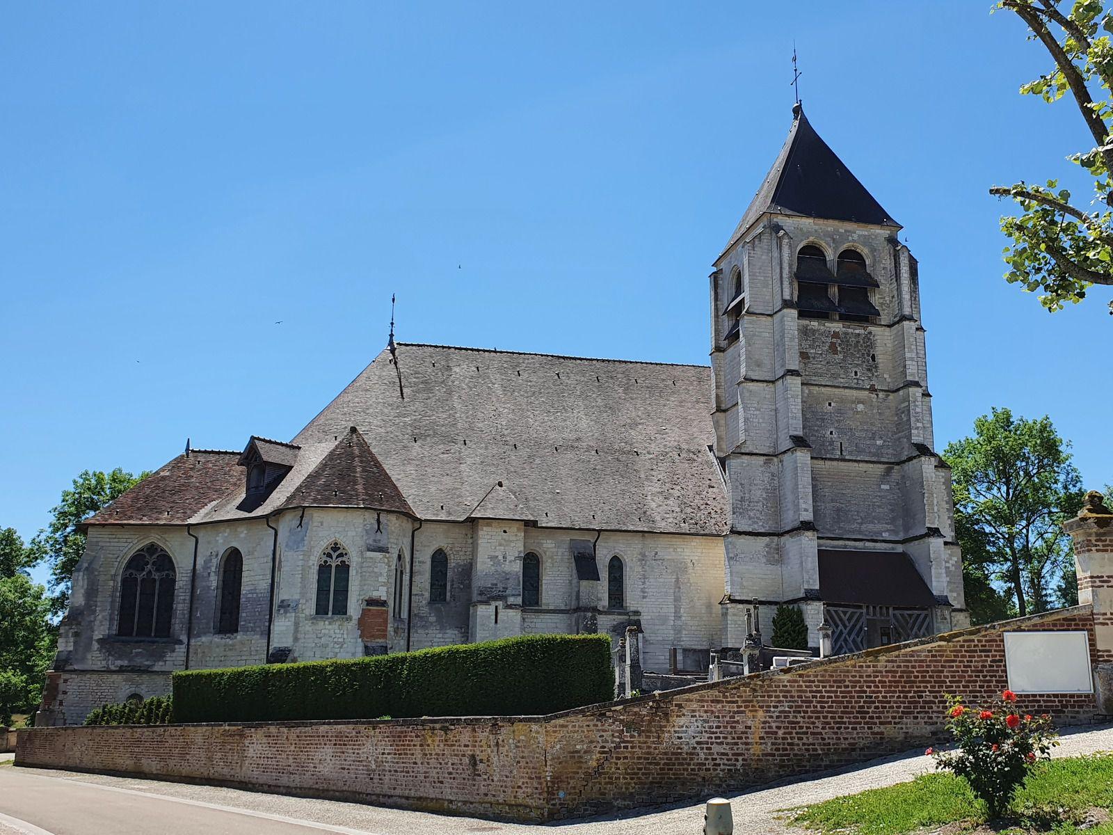 Église de l'Assomption-de-la-Vierge, à Rosnay-l'Hôpital