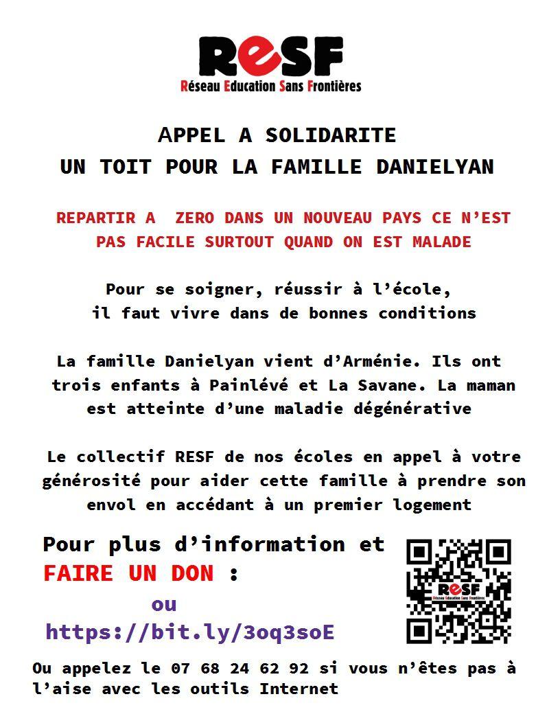 Réseau Education Sans Frontières : APPEL A SOLIDARITE !