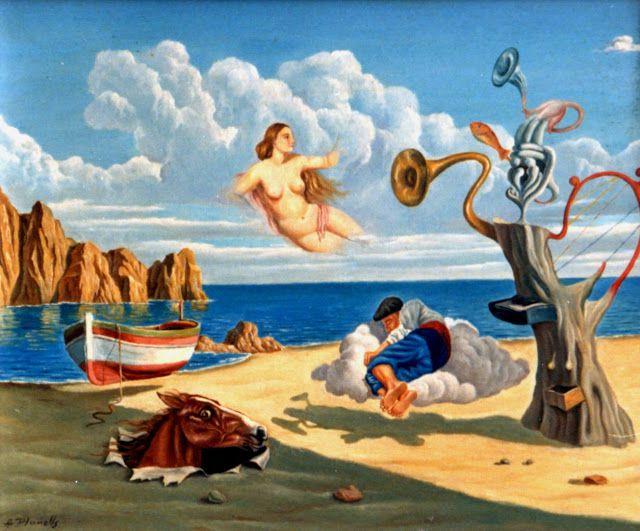 Angel Planells - Peinture surréaliste