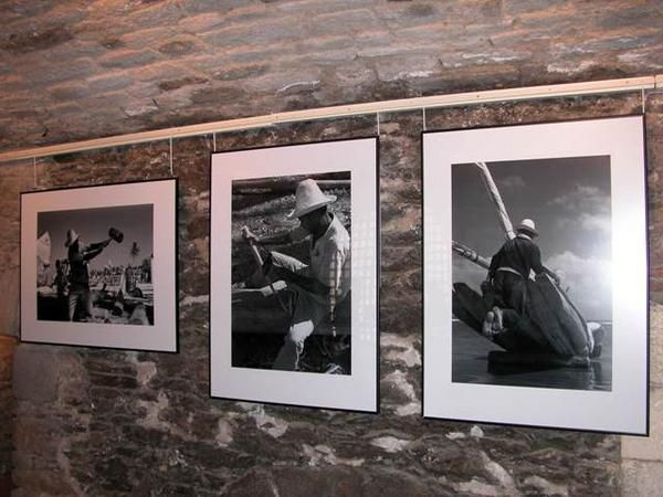 Exposition de photos de Chico Albuquerque sur les jangadeiros de Mucuripe - Brest 2004
