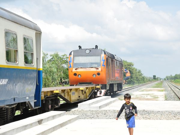 Un train vers Phnom Penh