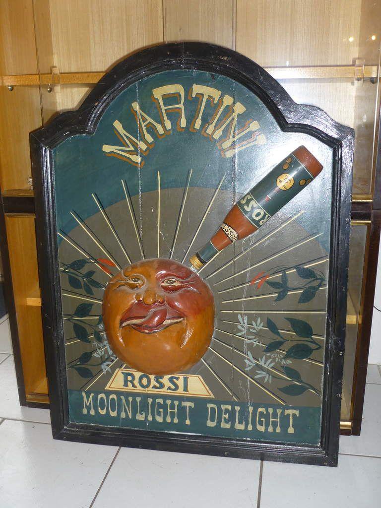 Publicité ancienne pour le MARTINI