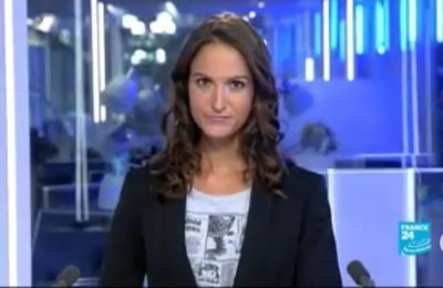 2013 09 15 - 23H00 - MARION GAUDIN - FRANCE 24 - LE JOURNAL