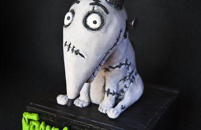 Sparky dog (Frankenweenie) création en pâte FIMO Polymère