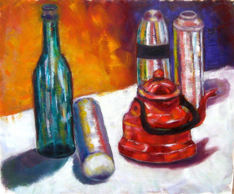"""Activité : """"Initiation peinture à l'huile"""""""