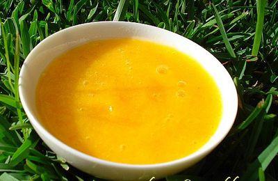 coulis d'abricots