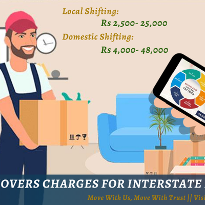Packers and Movers Charges for Interstate Relocation