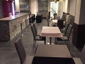 N° 91 rue Clemenceau à Algrange - Café - Hôtel-restaurant - Thé dansant - Pizzeria-restaurant lounge