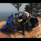 Essai Honda 1800 Gold Wing 2012 aux USA ( video officielle moto journal )