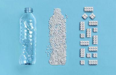 Innovation produit : Des légos en plastique recyclable... Une grande première !