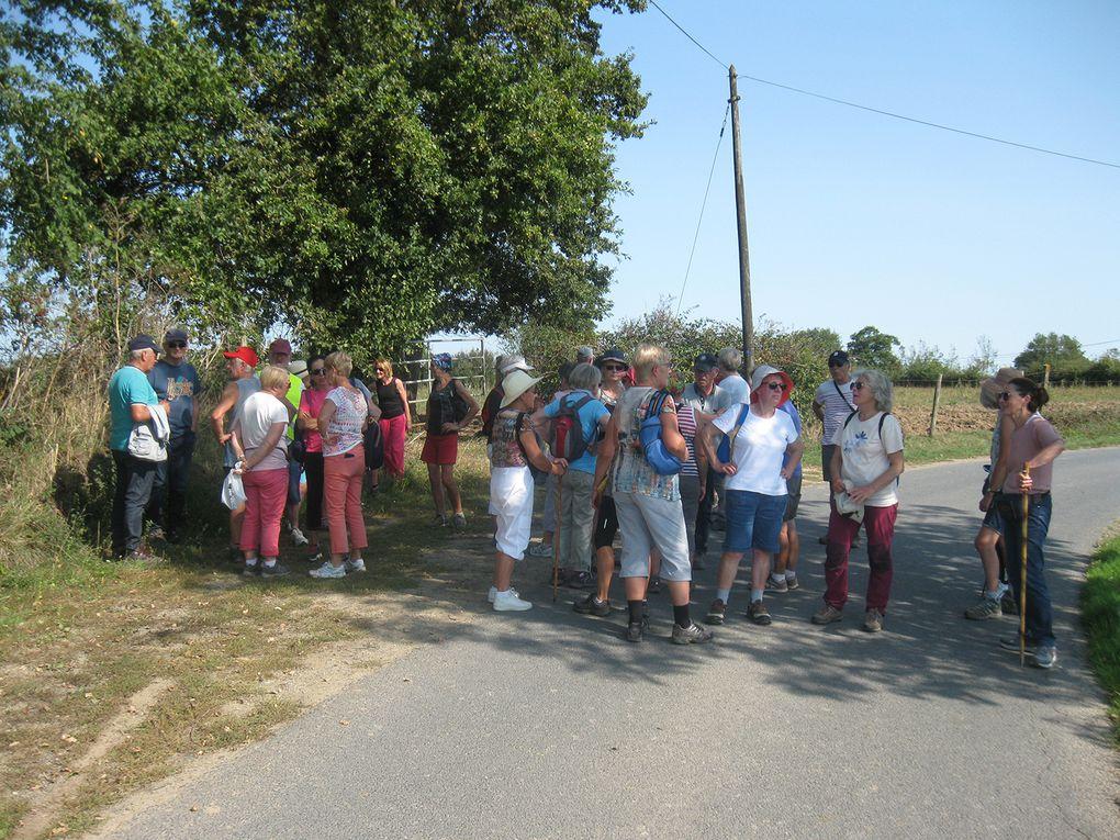 Il faisait chaud, très chaud sur les chemins de Rampan...