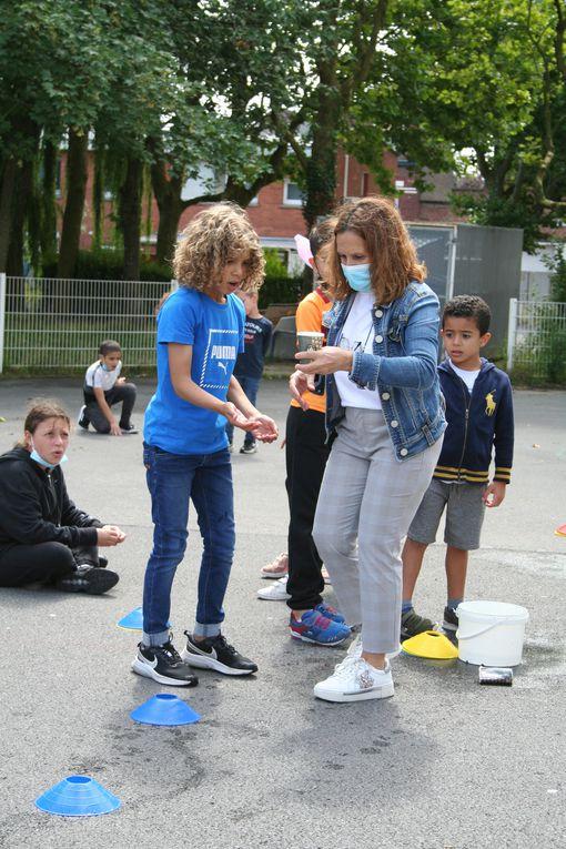 Vendredi 06 Août 2021. Les enfants du centre Jean Zay se sont affrontés lors d'un grand jeu réunissant tous les primaires à la recherche du lapin!