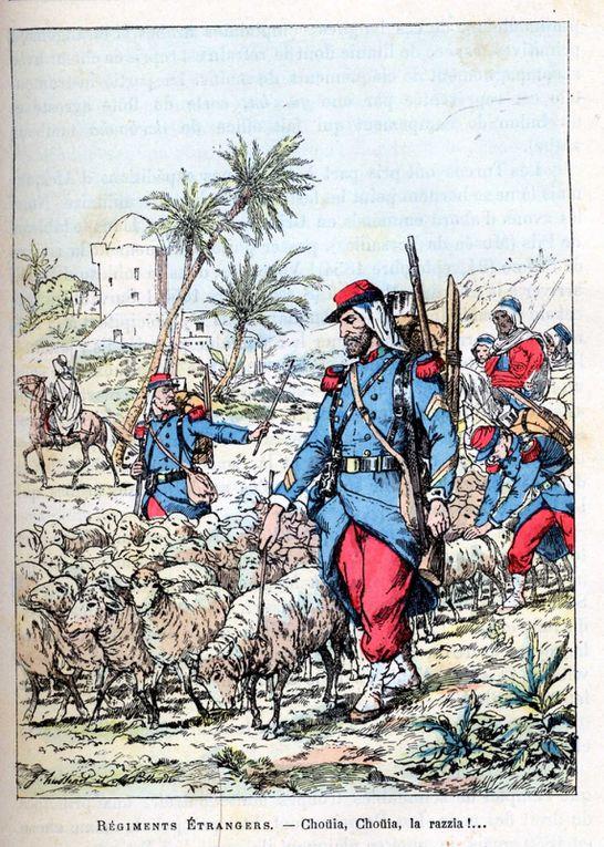 Album - Armee Française / gravures anciennes