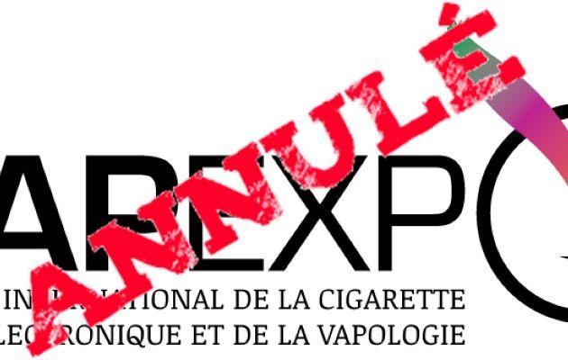 Vapexpo annule son salon de Lille