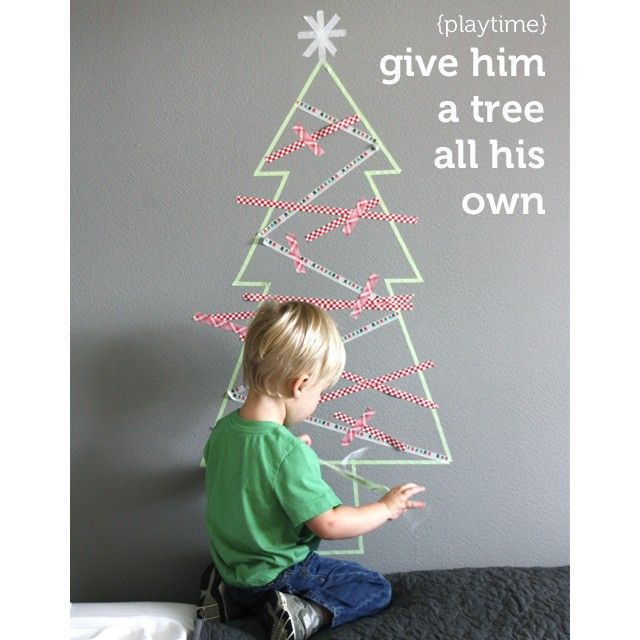 Make It: Washi Tape Tree