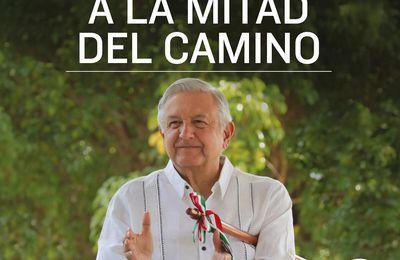 """""""A la mitad del camino"""" la visión de AMLO sobre México"""