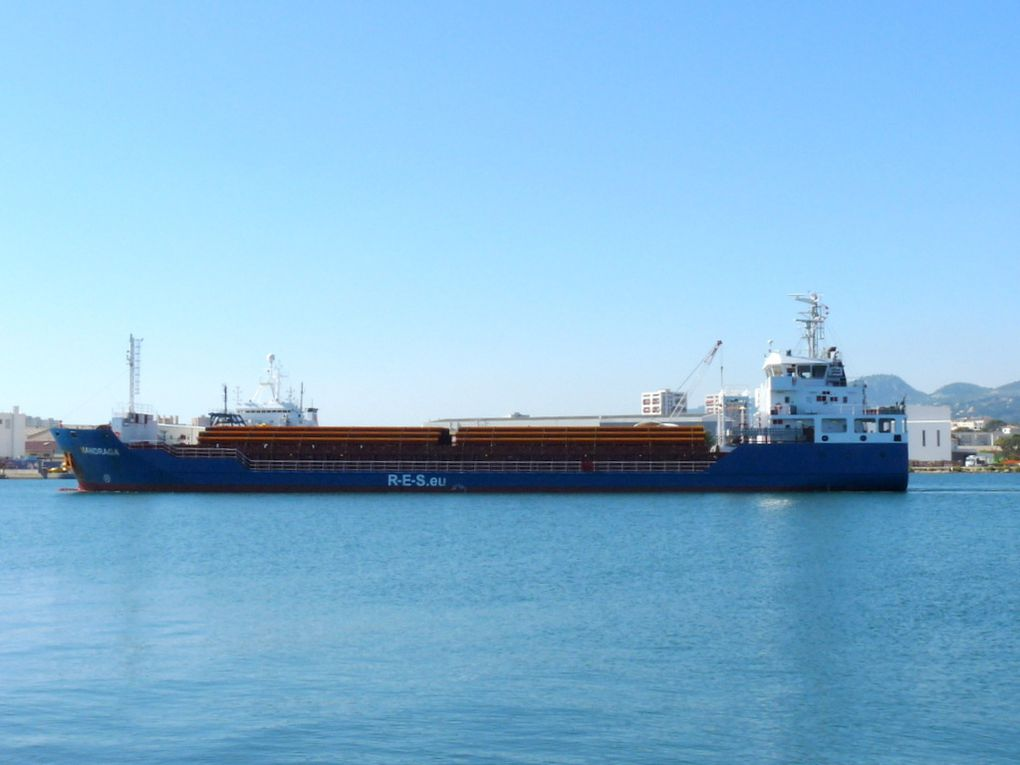 MANDRAGA , arrivant dans le port de la Seyne sur Mer le 11 septembre 2018