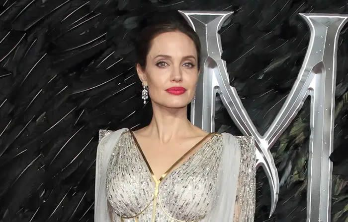 L'actrice Angelina Jolie — Keith Mayhew/Cover Images