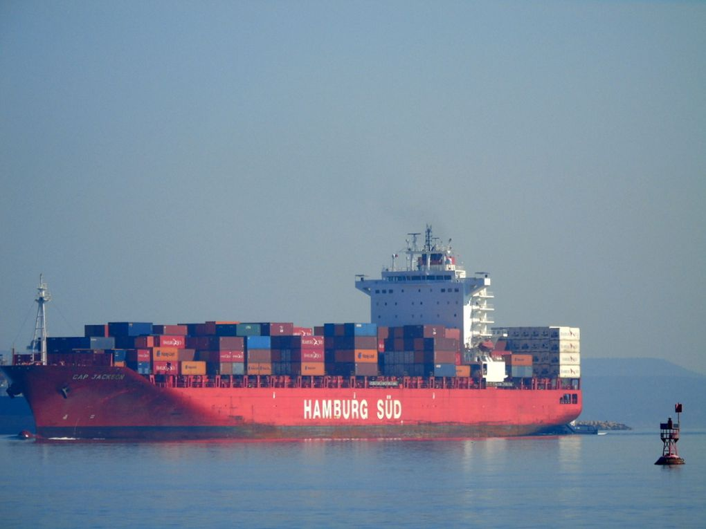 CAP JACKSON , appareillant du port de Fos sur Mer le 16 mars 2017
