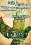 Lundi 22 octobre 2018 à 19h à Rouen, conférence débat : :« Les religions : chemin pour la paix ? »