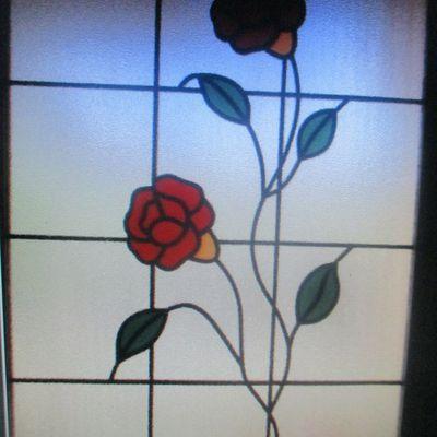 vitrail de porte