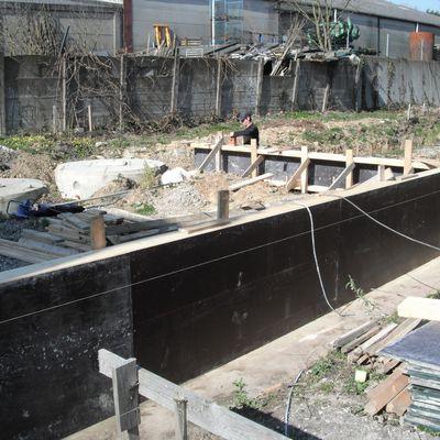 Début des fondations pour les deux dernières maisons