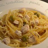 Spaghettis poulet olives cookeo |