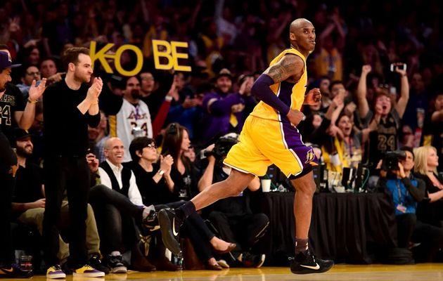 Fin de carrière en apothéose pour Kobe Bryant