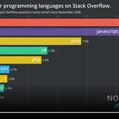 Most popular programming languages on stack overflow / Team2i place de marché informatique - OOKAWA Corp.