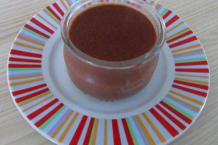 Semoule au lait chocolatée très gourmande réalisée au Cook Expert