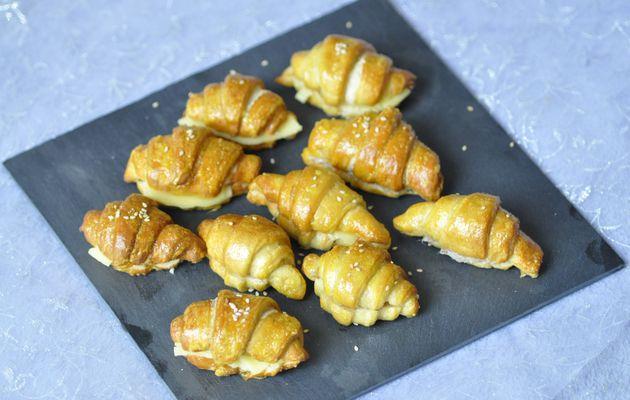 Petits croissants en pâte à bretzel (thermomix ou pas)