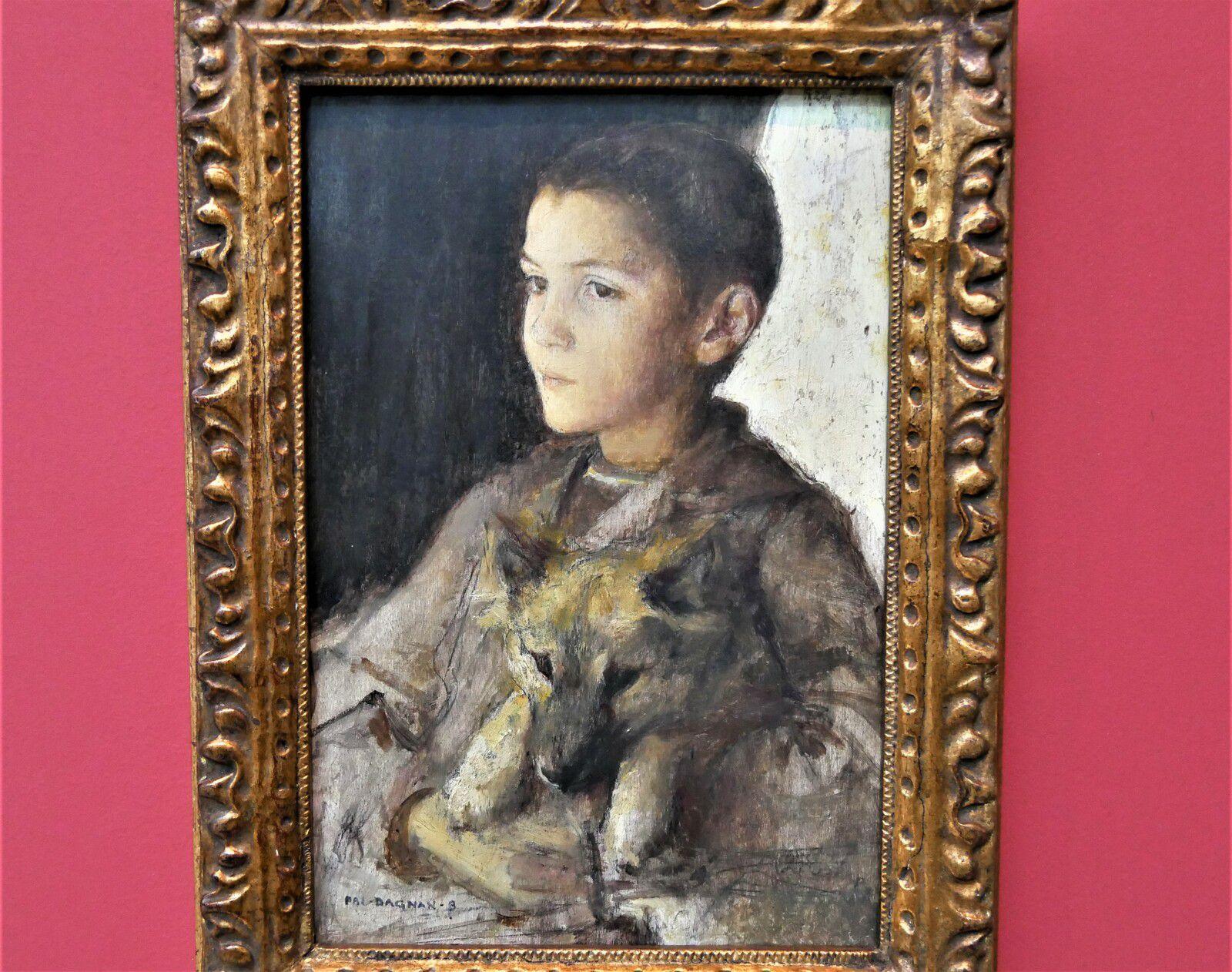Pascal Dagnan-Bouveret. Portrait de Jean Dagnan-Bouveret. Musée de Rochefort.
