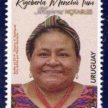 Rigoberta Menchu, Prix nobel de la Paix en 1992
