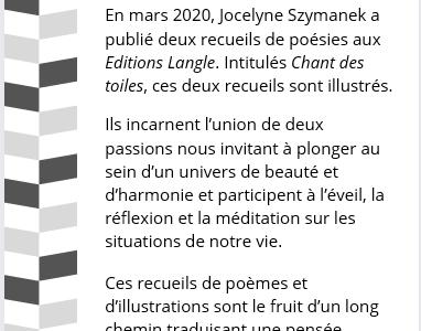 Les publications de Jocelyne Szymanek
