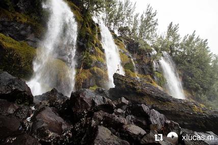 Les cascades éphémère du Tremblet une vrais beauté 😍