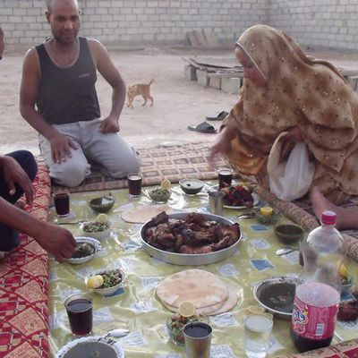 J3-4 : Couchsurfing in Al Mazra & Canyons